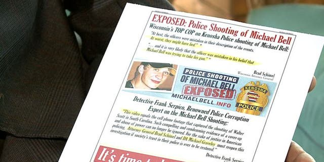 Michael Bell brought a ad page in Washington Post in hopes of renewing the investigation into his son's death.