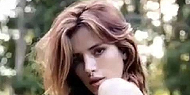 Bella Thorne barely covers up in a photo on social media.