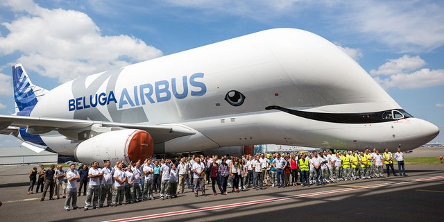 The Airbus employees voted on the new paint job.