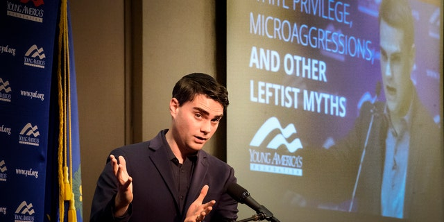 With 500 people attending, conservative political commentator Ben Shaprio delivers an address at the University of Connecticut. UConn's College Republicans on Wednesday, Jan. 24, 2018, welcomed Shapiro, editor-in-chief of conservative news and commentary site The Daily Wire. His appearance at the University of California, Berkeley sparked protests when he spoke there last fall.