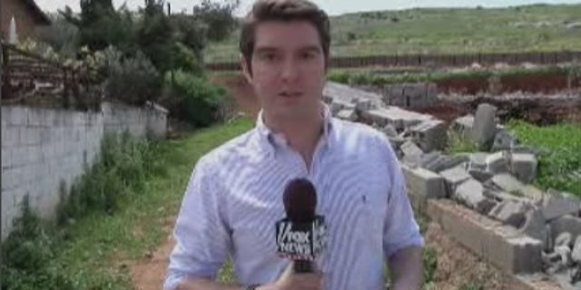 Benjamin Hall reporting from the Turkey-Syria border.