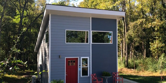 The newest tiny home built in northwest Charlotte, NC.