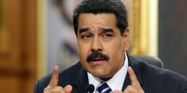 Venezuela's President Nicolas Maduro in a 2014 file photo.