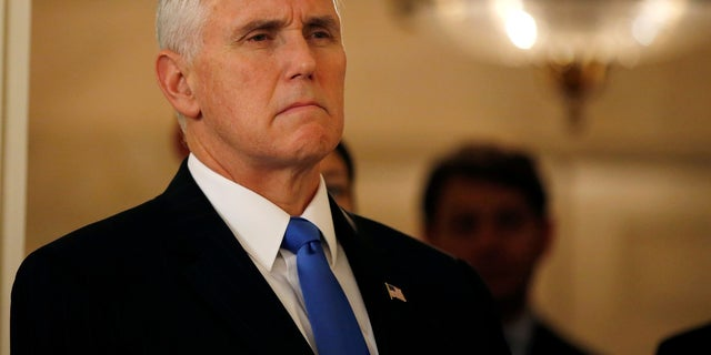 Vice President Mike Pence assumed office in January 2017.