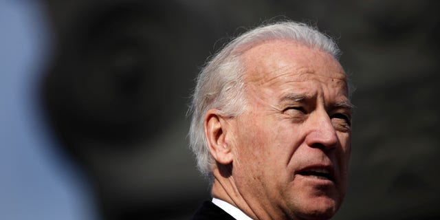 Vice President Joseph Biden speaks to several thousand people gathered on a central square in Chisinau, Moldova Friday March 11, 2011. (AP)