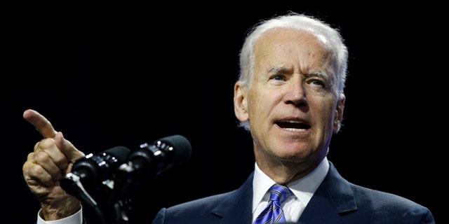 July 23, 2014: Vice President Biden speaks in Las Vegas.