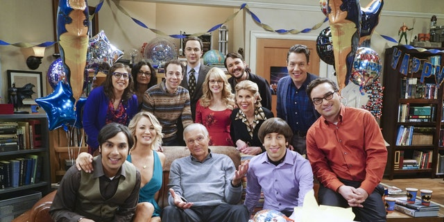 "The cast of the hit series ""The Big Bang Theory."""