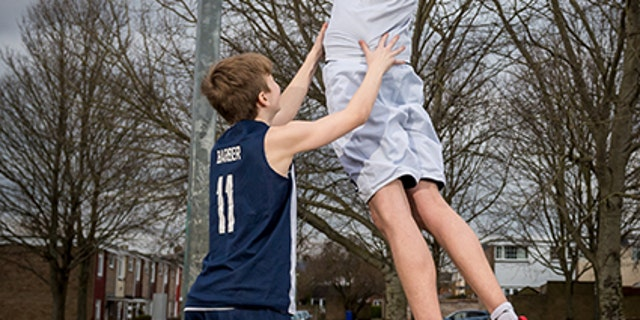16-year old Brandon Marshall is being hailed as the world's tallest teen at 7-feet, 4-inches.