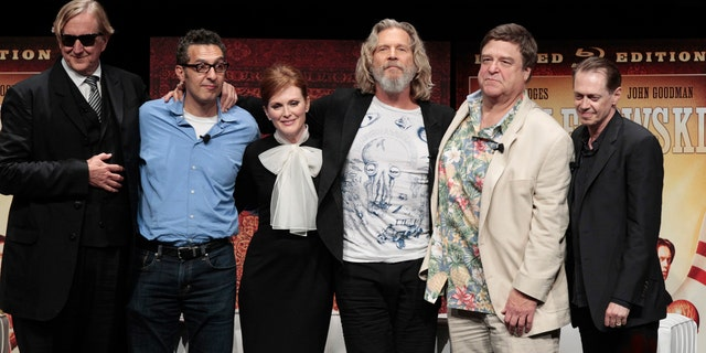 'Big Lebowski' cast in 2011 at the film's DVD release event.