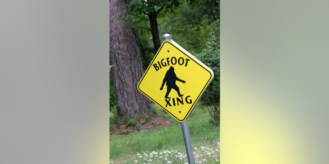 File picture - 'Bigfoot Crossing' sign (iStock)