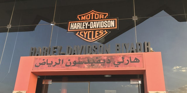 Male staff and trainers at Riyadh's Harley Davidson dealership show full support of their female counterparts driving and riding