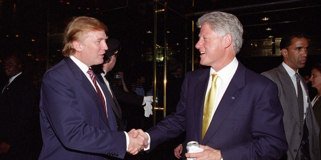 Trump and Clinton have had a years-long relationship. The two reportedly golfed together weeks before the 2016 presidential election kicked off, where Clinton encouraged Trump to run.