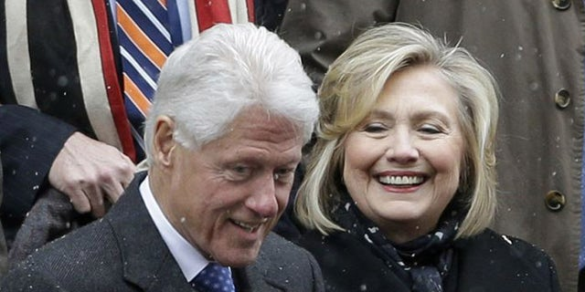 The former president and possible future candidate have raised $2 billion for their The Bill, Hillary & Chelsea Clinton Foundation, including a $1 million pledge from an unlikely source. (AP)