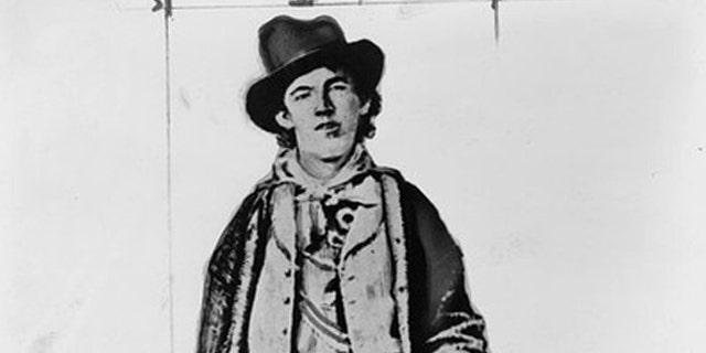 Henry McCarty, a.k.a. Billy the Kid, is pictured in this undated photograph obtained by Reuters