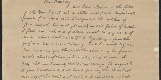Abraham Lincoln Letter Mystery  U0026 39 Almost Certainly U0026 39  Solved