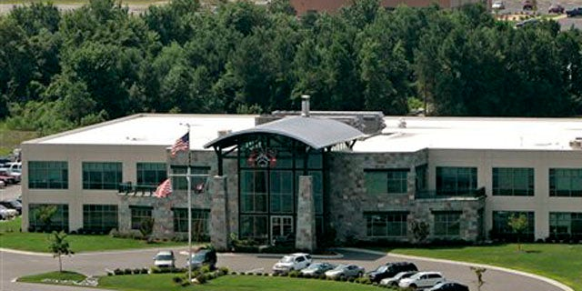 July 21, 2008: Blackwater Worldwide's headquarters is seen in Moyock, N.C. Reports say the company formed a network of 30 shell companies and subsidiaries to get government business (AP).