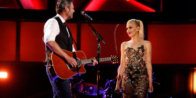"Blake Shelton and Gwen Stefani met when they were cast as coaches on ""The Voice."""