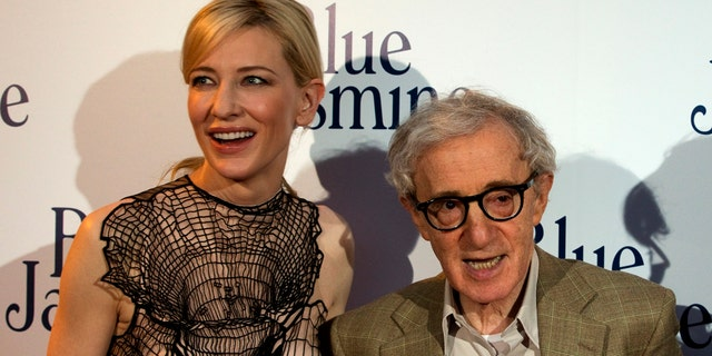 "Blanchett and Allen at ""Blue Jasmine"" premiere."