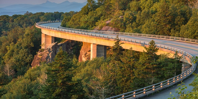 The 469 miles of scenic road stretches from Shenandoah National Park to the Greaty Smoky Mountains National Park.
