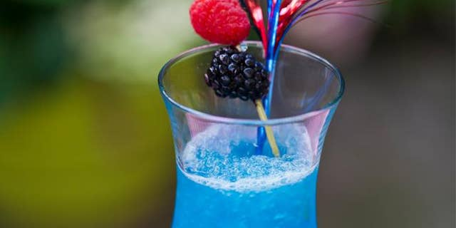 Cool off with this patriotic beverage.