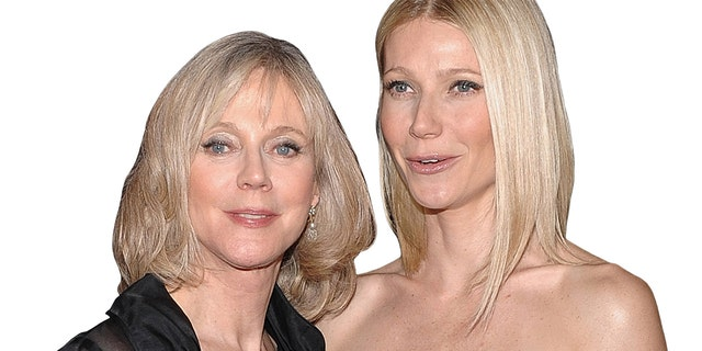 Blythe Danner (left) with daughter Gwyneth Paltrow.