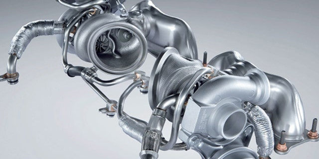 BMW's twin-turbocharger from the N54 3.0L straight-six