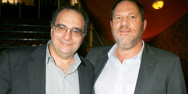 "Bob Weinstein (L) and his brother Harvey Weinstein, the founders of The Weinstein Co., an independent motion picture studio, pose at the premiere of their studio's film ""1408"" in Los Angeles, California June 12, 2007."