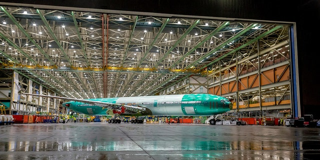 The jetliner will be 12 percent more fuel-efficient than the Airbus A350, Boeing says.