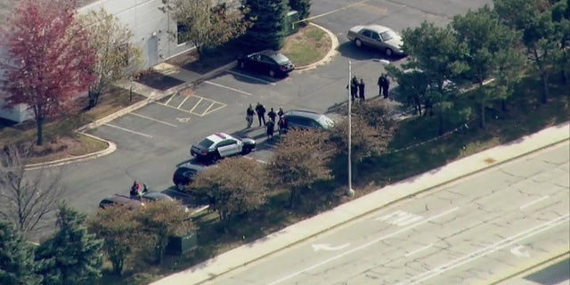 Schools went on lockdown after a workplace shooting in Bolingbrook, Illinois. (Fox 32)