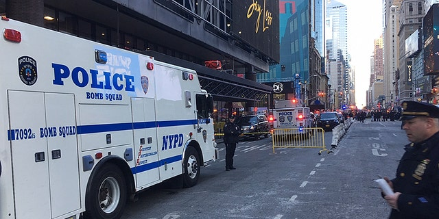 The explosion was reported about 7:30 a.m., during morning rush hour at the U.S.' largest bus terminal.