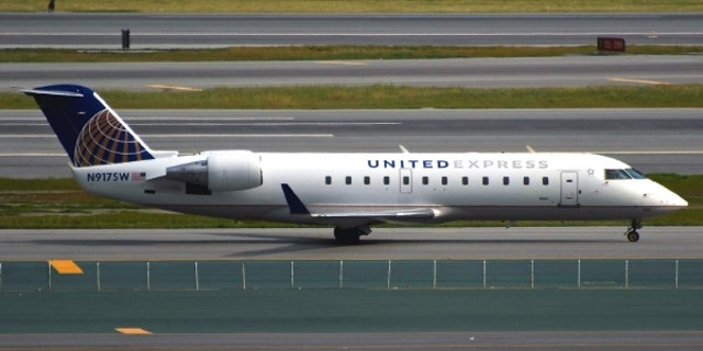 The flight was en route to Washington Dulles International Airport when it was hit with bad weather from a powerful nor'easter bringing up to 70 mph winds, rain and snow.