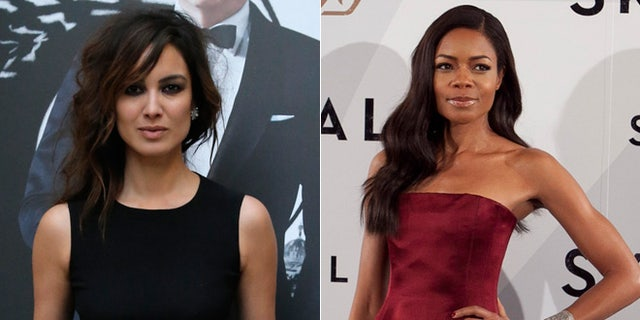 French actress Berenice Marlohe, left, and British actress Naomie Harris, right, are both featured in the new James Bond film 'Skyfall.'
