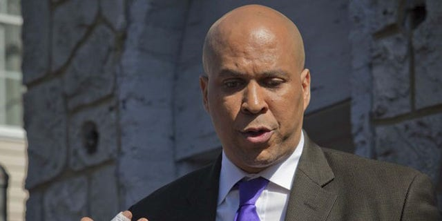 Booker said he was racially profiled growing up in subrurban New Jersey.