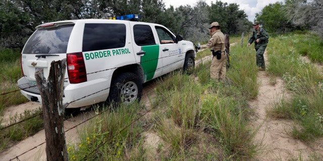 """Two Syrian families """"presented themselves"""" to Border Patrol officials in the Laredo, Texas, sector, according to a DHS spokeswoman. (AP)"""