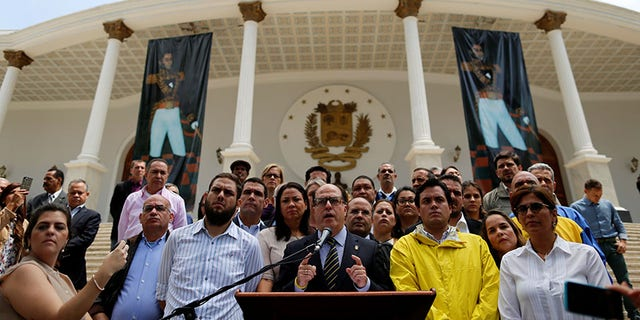Borges announced a national protest this weekend and urged Venezuelans to raise their voice.