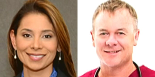 Drs. Lina Bolanos and Richard Field were killed last Friday.