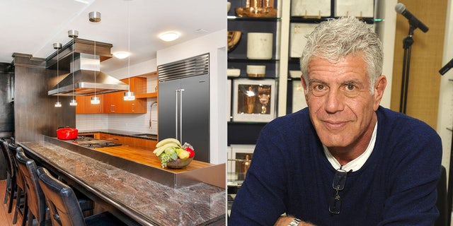 Bourdain and estranged wife Ottavia Busia bought the unit in 2014 for $3.35 million.