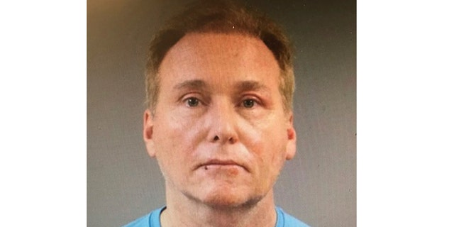 This photo provided by the Warren County Regional Jail shows Rene Boucher, who has been arrested and charged with assaulting and injuring U.S. Sen. Rand Paul of Kentucky. Kentucky State Police said in a news release Saturday, Nov. 4, 2017 that Paul suffered a minor injury when 59-year-old Rene Boucher assaulted him at his Warren County home on Friday afternoon.