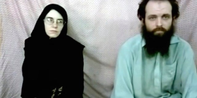 Screenshot of video featuring Caitlan Coleman and Joshua Boyle