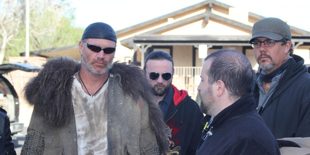 """Brian Bosworth appears in """"Revelation Road 2."""""""