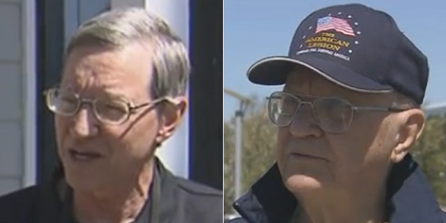 Harold Flowers, left, will meet former Vietnam POW Raymond Schrump, right, on Saturday at the Airborne and Special Operations Museum in Fayetteville, N.C.