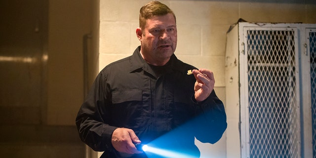 "Brad Henke played tough prison guard Desi Piscatella on the popular Netflix series ""Orange Is the New Black."""