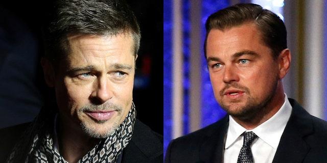 Brad Pitt, left, and Leonardo DiCaprio will star in Quentin Tarantino's upcoming Manson movie.