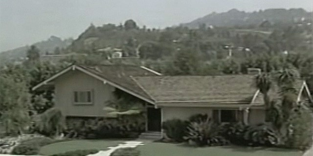 "The exterior, as seen in ""The Brady Bunch,"" is pictured."
