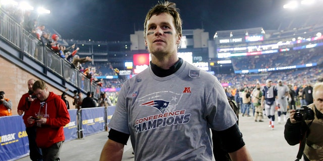 Brady led the Patriots past the Jacksonville Jaguars to reach his eighth Super Bowl, an NFL record
