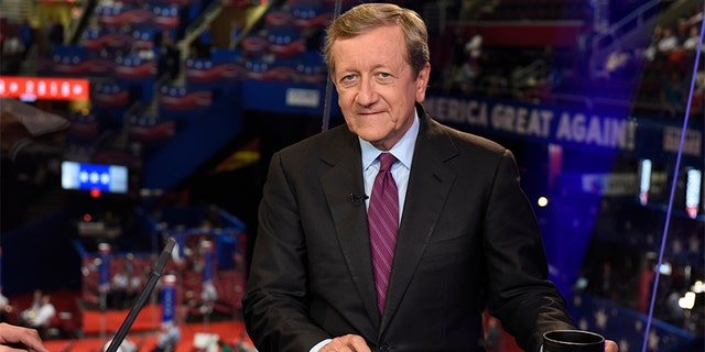 Brian Ross is pictured at last year's Republican National Convention in Cleveland.