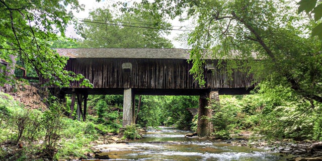 The Concord Covered Bridge has looked like this since 1881.