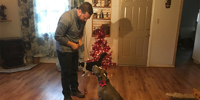 Oklahoma-based Geoff Hoffman took Bridget with him everywhere and suspects someone followed them home one night to plan the theft.