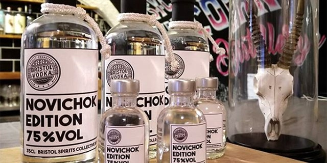 "The company behind Novichok Edition vodka said it never meant to offend, but rather ""lighten the mood."""
