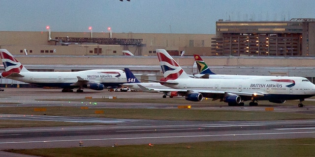 Emergency services were scrambled to the West London scene at around 4.15pm as the airport's control tower was evacuated.